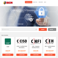 ISCN New Website Live – Now with more Special Offers on Security Training