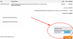 master mobile application developer discount code