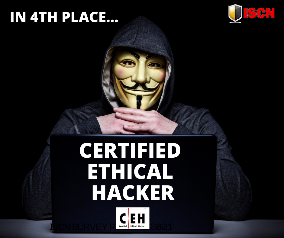 Certified Ethical Hacker - one of the best cyber security certifications in 2021