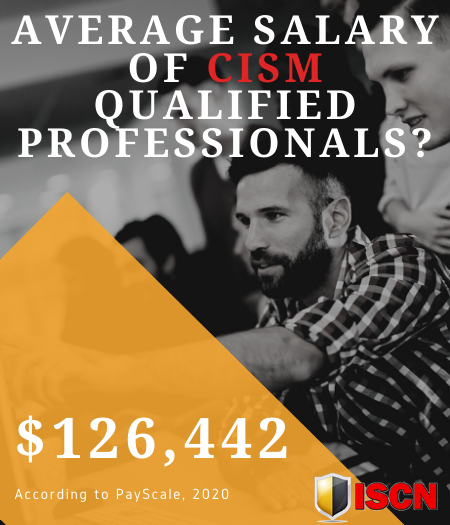 Average salary of CISM