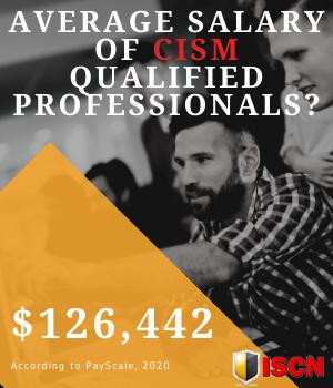 Average salary of CISM