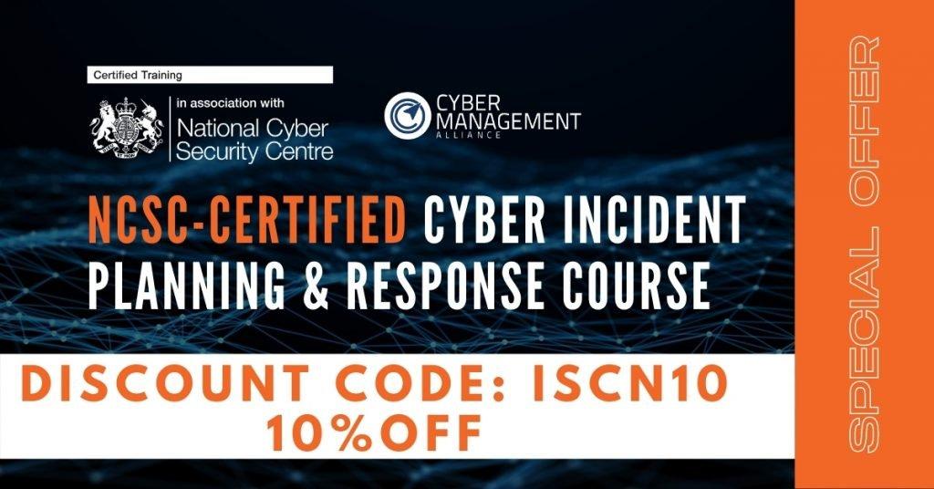 ncsc cipr iscn discount code