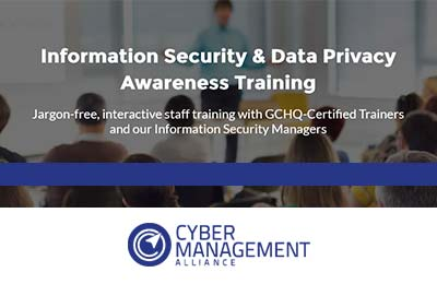 Information Security & Data Privacy Awareness Training